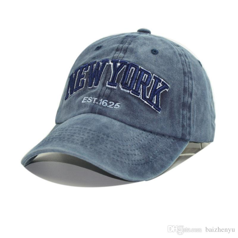 Sand Washed 100% Cotton Baseball Cap Hat for Women Men Vintage Dad ... bb0f2265b89d