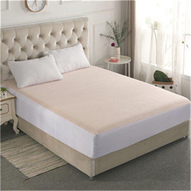 Smooth Waterproof Mattress For Box Spring Mattress Cover Bed Mat