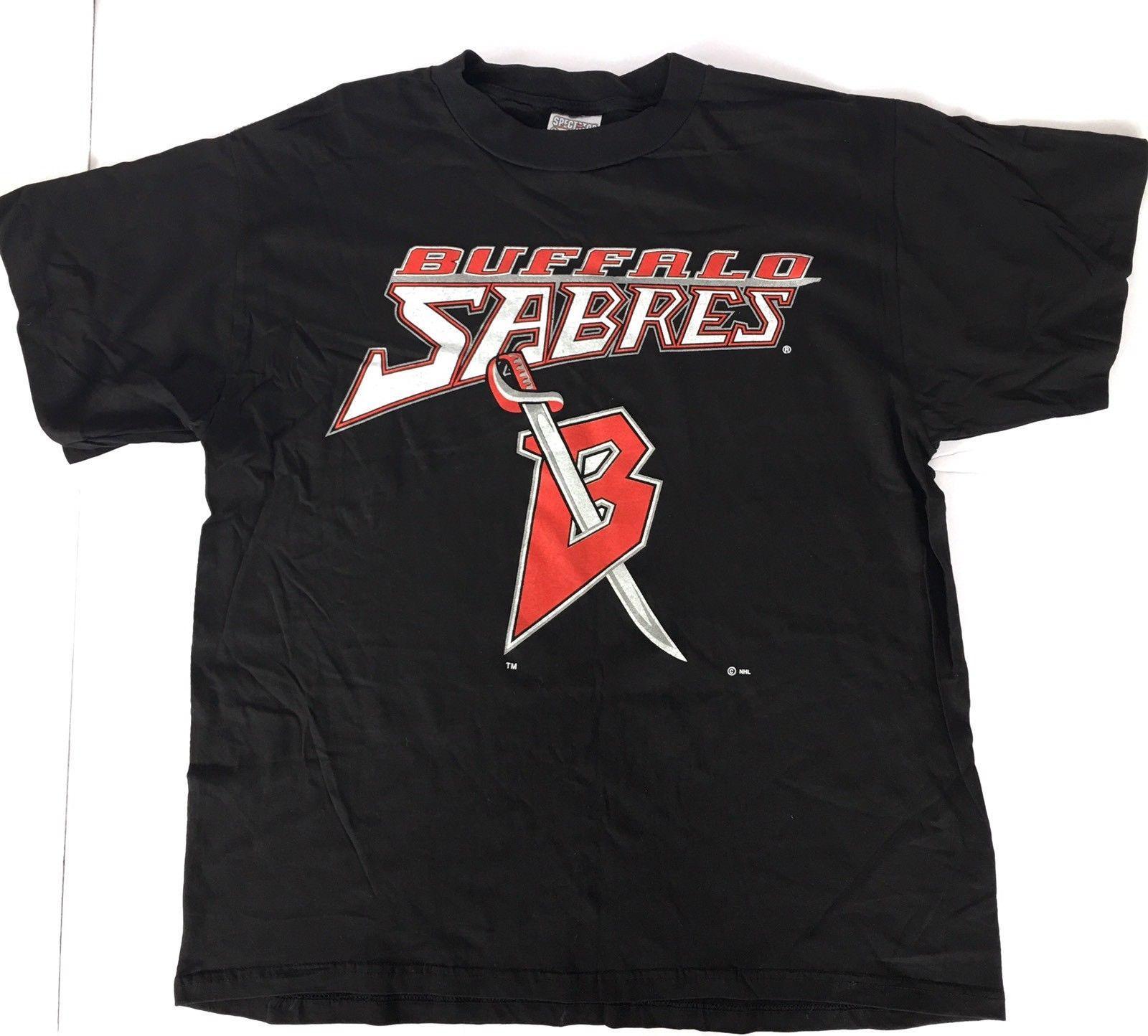 36a71f4fd Vintage Buffalo Sabres T Shirt EUC 100% Cotton XL Black Hockey Mens T Shirt  Summer O Neck 100% Cotton Men Short Sleeve Tee T Shirt Prints T Shirt  Designing ...