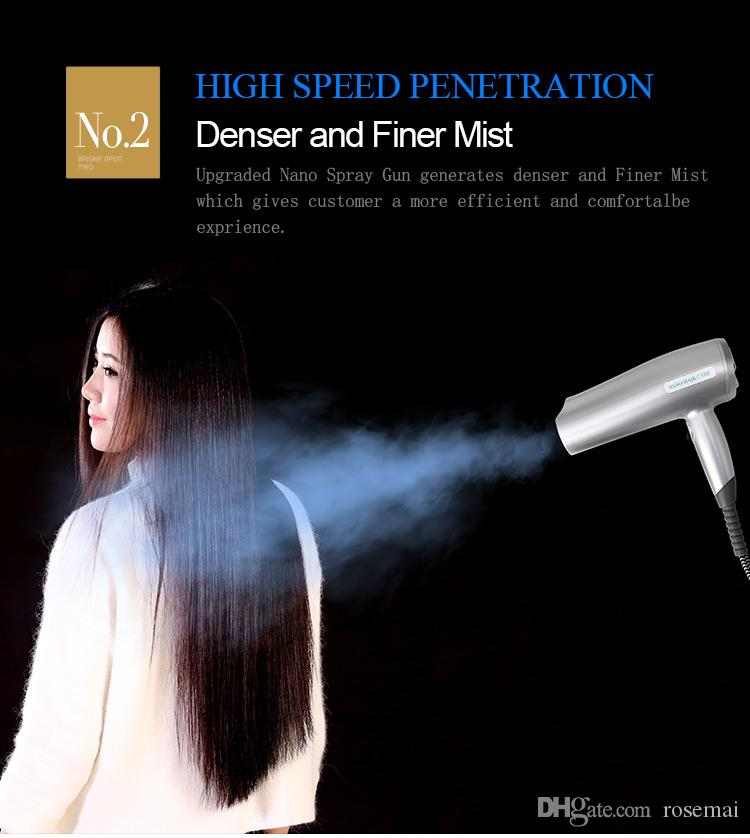 2017 공장 직접 판매 Nano 머리카락 Caring Machine, Hair Regimen machine, hair steamer S68-II