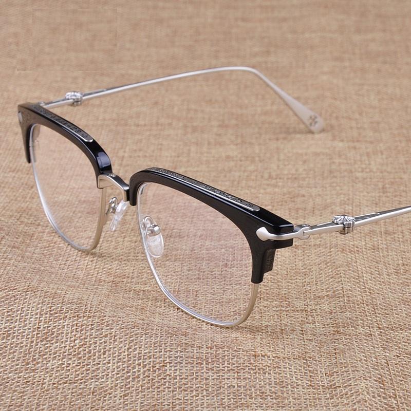 c113ba059f Vazrobe Mens Glasses Women Luxury Black Gold Eyeglasses Frames Star ...