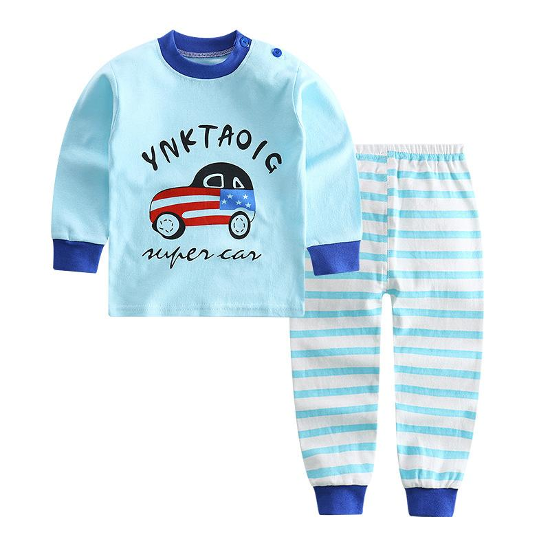 10513f05 Children Boys Car Pajamas Sets Unicornio Cartoon Rabbit Pyjamas Sleepwear  Pijamas Infantil Baby Underwear 2 3 4 5 6 Years Old Kids Pajama Pants  Pajama Sets ...