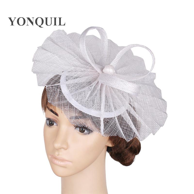 921bd5912ec37 2019 Elegant Ladies Party Gold Fascinators Wedding Hat Hair Accessories  Cocktail Headwear Occasion Headpiece Hats TMYQ114 From Naughtie, $22.04 |  DHgate.Com