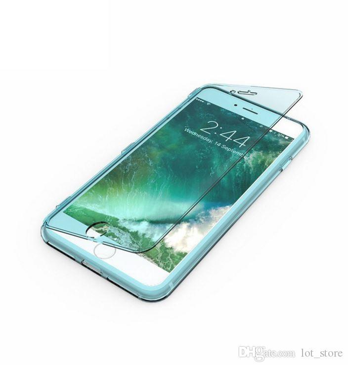 Телефон чехол для iPhone 8 8 Plus Силиконовый TPU ясно чехол для iPhone 6 6С 7 8Plus Кристалл чехол ультра тонкий чехол