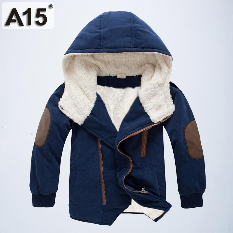 a5cb8d587 Kids Winter Jackets And Coats Fall Jacket For Boys Parkas Warm ...