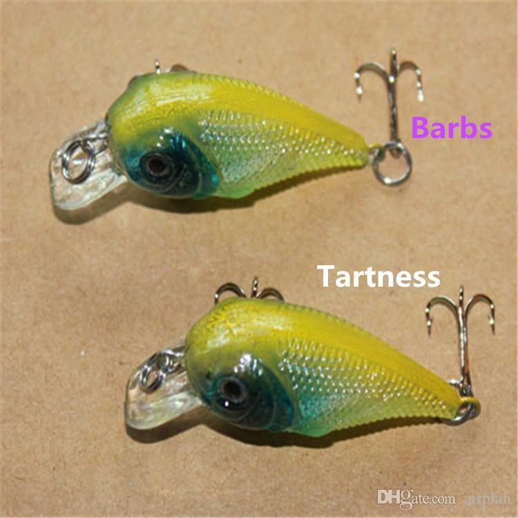 Topwater рыболовные приманки 4.5 см 4 г искусственные приманки воблер крючки для пески рыболовные снасти окунь щука рыбалка рыболовные крючки