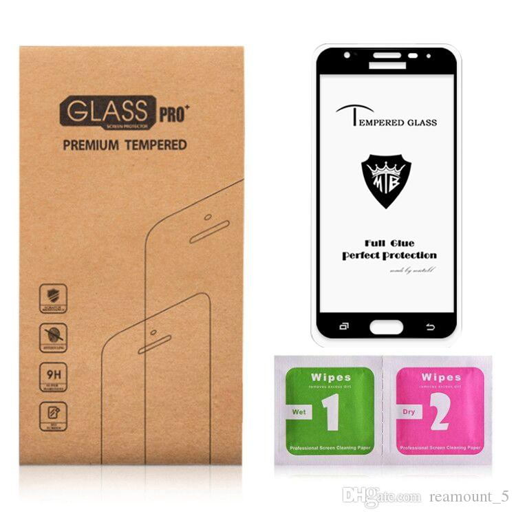 Full Screen Panel Glue Cover Tempered Glass For One Plus 3 Anti-Dust Protect Microphone Tempered Glass for Moto X4
