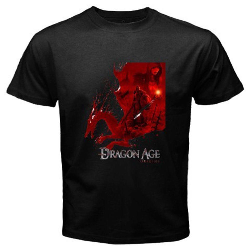 New Dragon Age Origins Famous Video Game T Shirt Cool T Shirt Sites - Famous video game designers