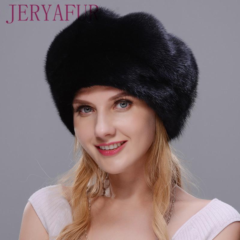 Großhandel Jeryafur 2018 Russischer Hut Winter Frau Pelz Hut Stil ...