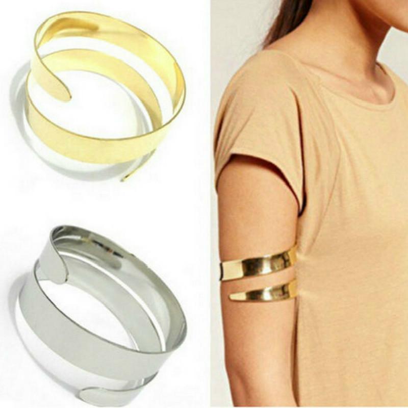 free shipping 26a55 f8ff8 2018 Estate nuovi bracciali polsino regolabile braccialetti donne colore  oro bracciale bracciale bracciale bracciale bracciale punk gioielli