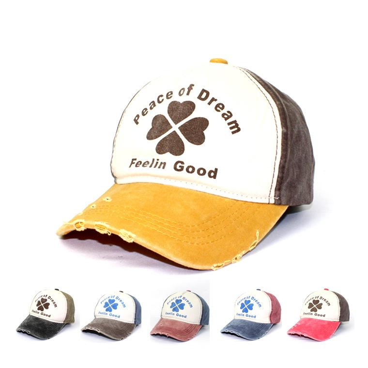 New Euro USA Frayed Baseball Caps Fashion Printed Ball Hat Pentagram Rivets  Popular Strapback Hat Leisure Dad Hat Adjustable Trucker Hats Ball Caps  Fitted ... bf4d4fc6403