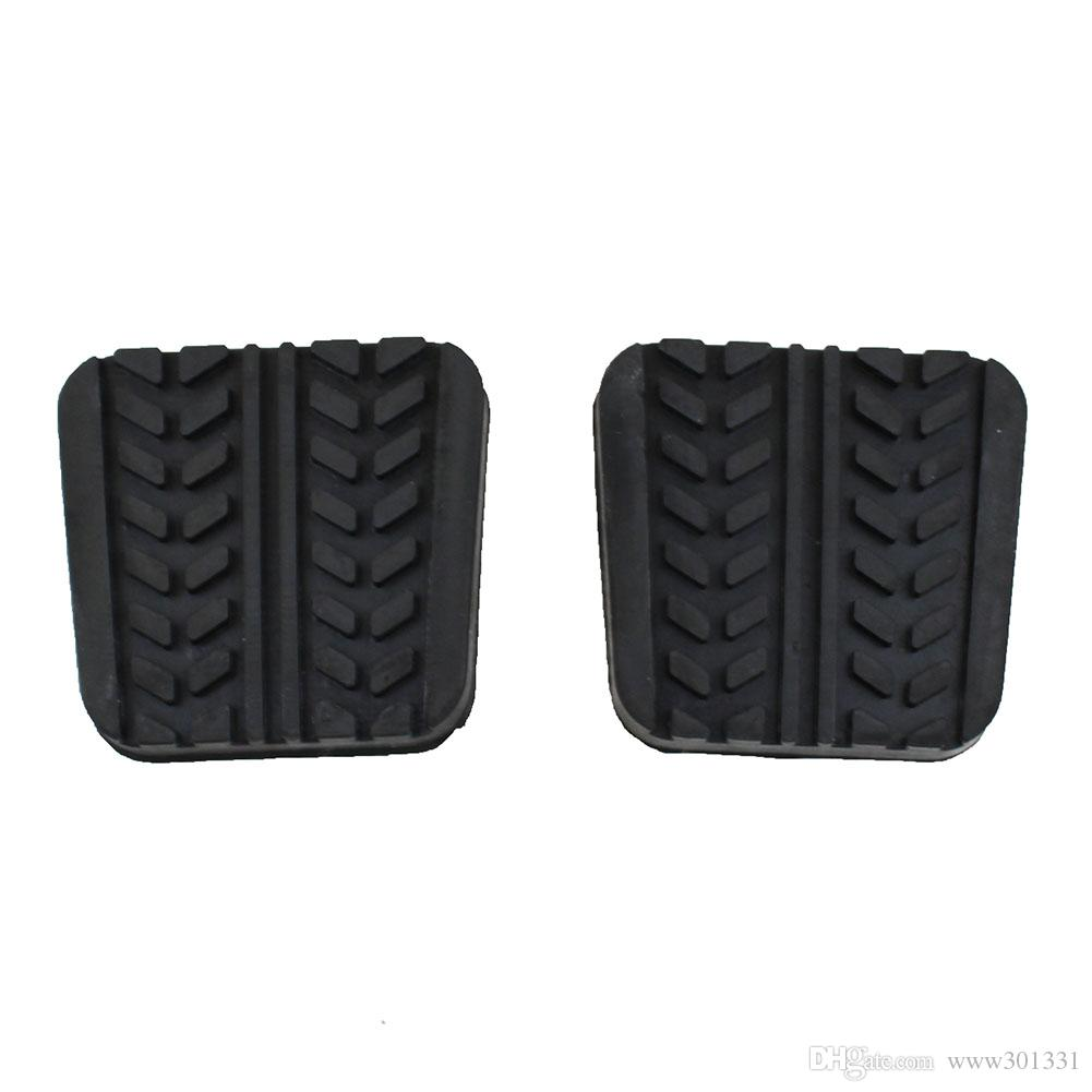 Pair Brake Clutch pedal pad Cover For Mazda 323 626 929 B-Series B2200 B2600 Bravo E1400 E1800 MPV MX6 Premacy RX-7