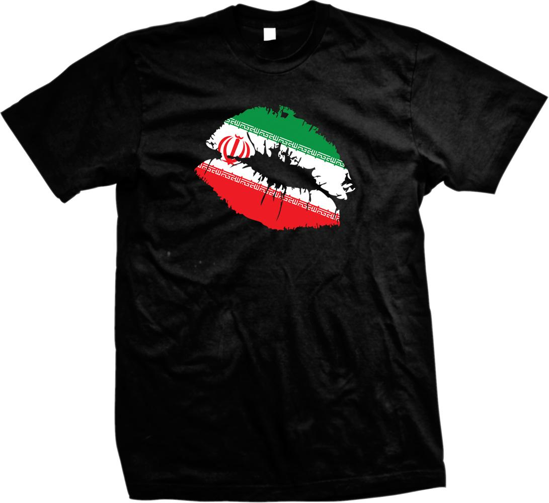 New Brand Clothing T Shirts Wholesale Discount Flag Sexy Lips