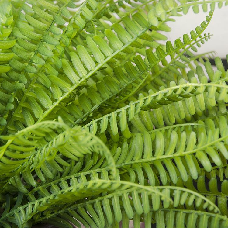 Artificial Flor Deixa Plantas Muito Falso Lifelike Plástico Grama Persa Lysimachia Fern floral decoração