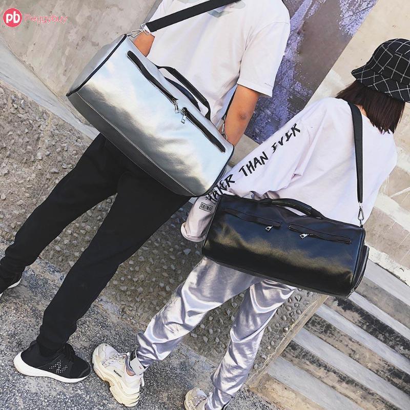 e5829b095e4e 2018 Travel Bag PU Leather Couple Luggage Bags For Men And Women ...