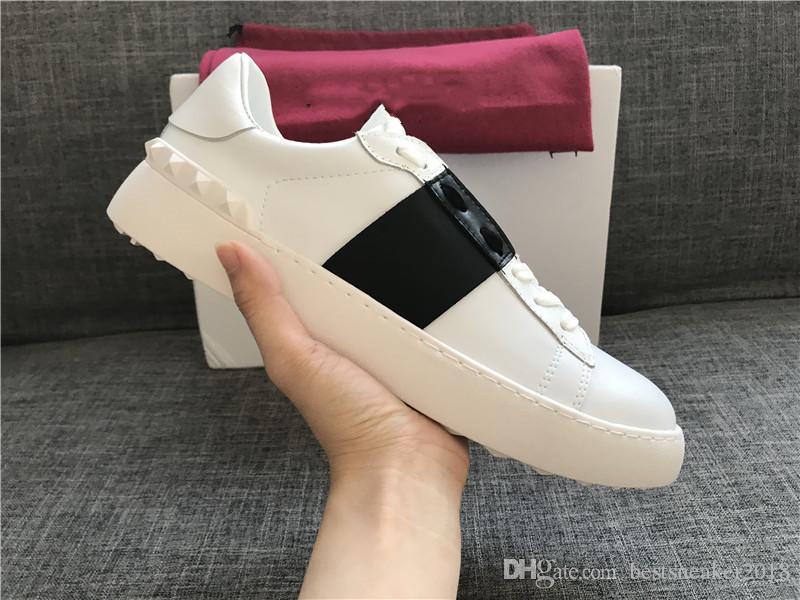 Acquista Designer Di Lusso Rockrunner Scarpe Casual Scarpe In Pelle Morbida Scarpe  Da Ginnastica Da Donna Scarpe Da Uomo Scarpe Da Tennis Sportive Calzature  ... 62981e467a1
