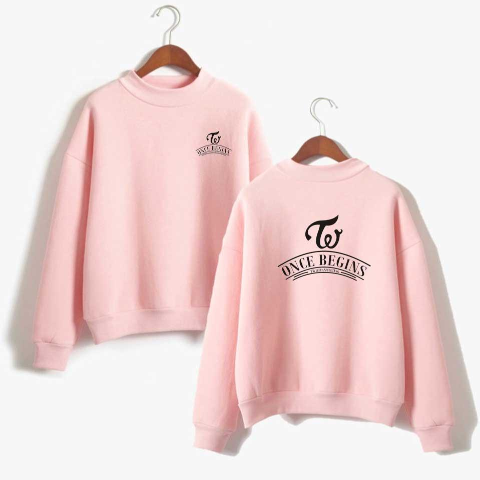2019 Bts K Pop Korean Twice Sweatshirt Women Hip Hop Kpop Fans Print