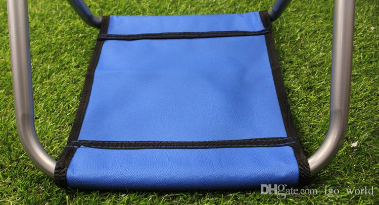 Portable stool Fishing Chair Camping Furniture Canvas stool 250kg Convenient Folding Stools fishing Cushion Folding Chair