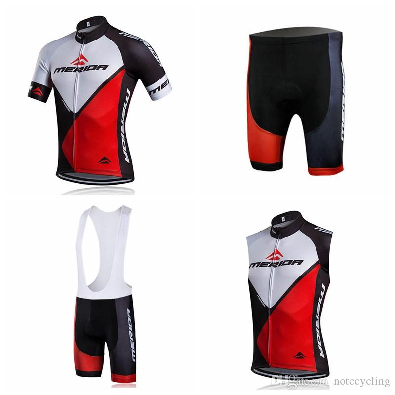 fb77f33f3 MERIDA Cycling Short Sleeves Jersey Bib Shorts Sleeveless Vest Sets New  Custom 2018 Variety Of Choice Mtb Road Bike Clothing Hot A41631 Cycling  Caps Bib ...