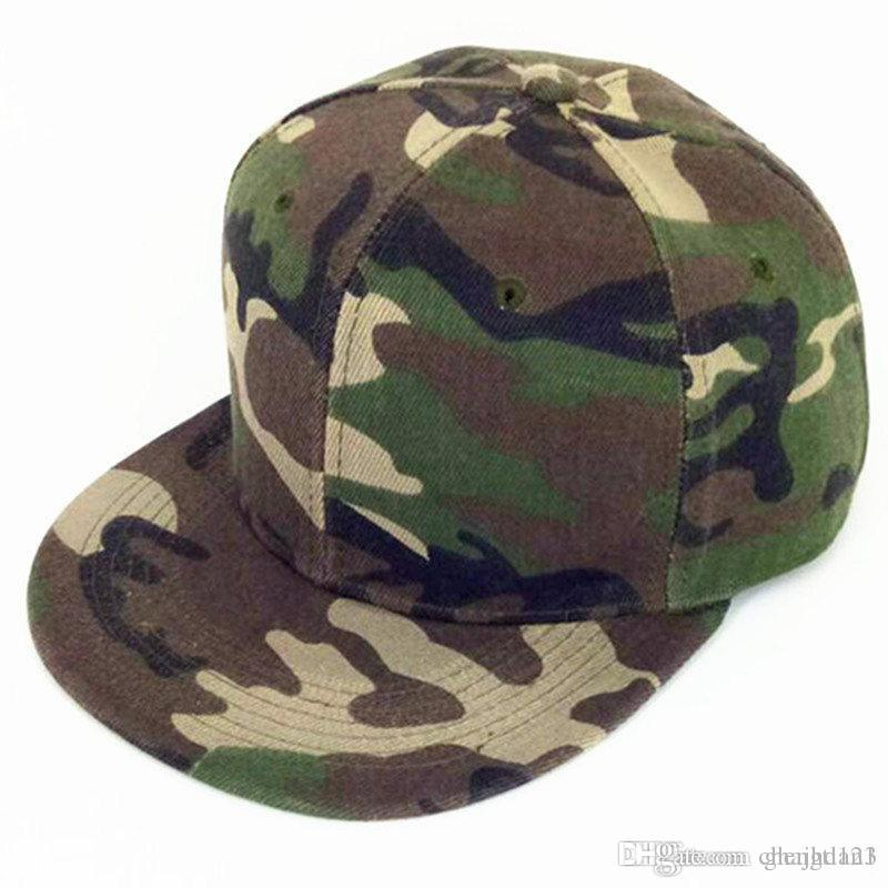 71ab2067078 LDSLYJR 2018 Cotton Camouflage Baseball Cap Hip Hop Cap Adjustable Snapback  Hats For Men And Women 325 Ball Cap Wholesale Hats From Chengtian1