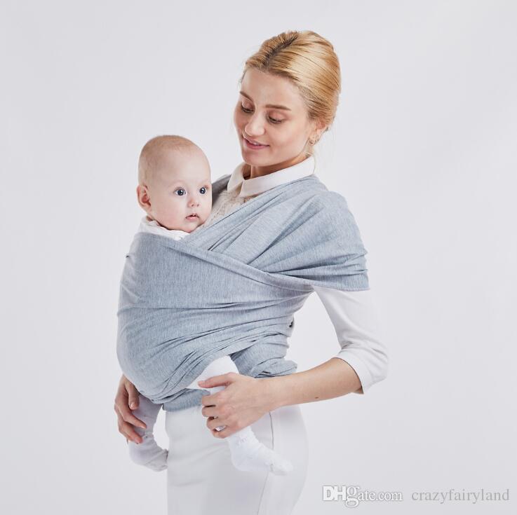 Baby Wrap Nursing Cover Kids Carrier Infant Wrap Adjustable Kids