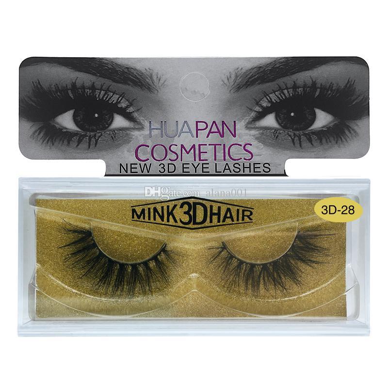 10 stili 3D Visone Ciglia trucco 100% Real Mink Naturale Spesso Falso Ciglia Finte Eye Lashes Trucco Estensione Strumenti di Bellezza DHL Nave