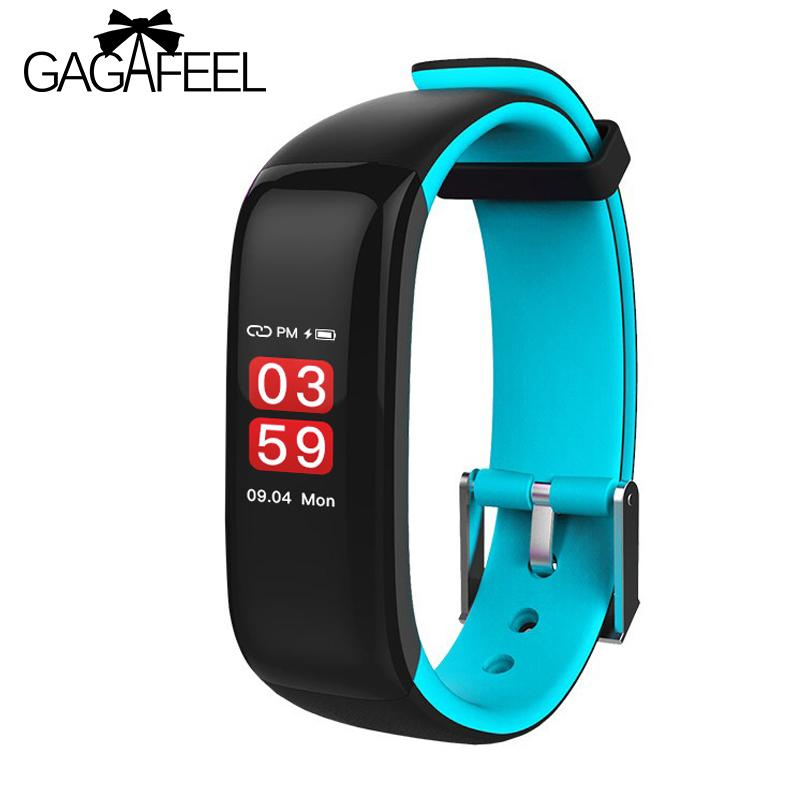 P1 Plus Smart Bracelet Most Accurate Heart Rate Monitor Blood Pressure  Sport Fitness Clock Watch Colorful Touch Screen for phone