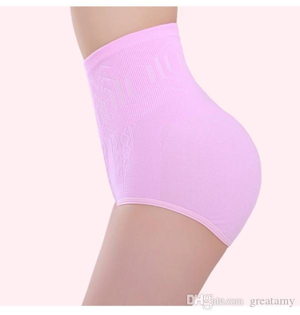 Mode taille libre sexy femmes taille haute ventre contrôle corps shaper mémoires minceur pantalons taille formateur taille serre