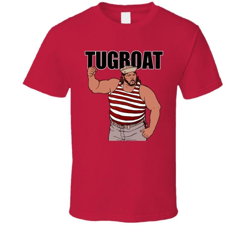 3e7583a92 Tugboat Retro Wrestling T Shirt Shirts Design Online T Shirts From  Bstdhgate04, $11.01| DHgate.Com