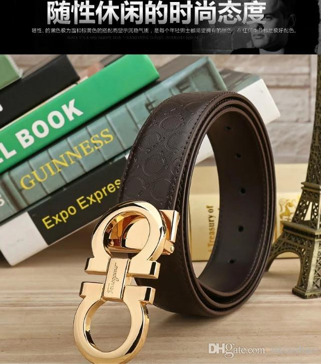 d9df8c59d F New Fashionable Ladies Leather Belt Pure Leather Belt Buckle Simple  Casual Business Men European Top Layer Cowhide Belt Mens Belts Tool Belt  From Oktaobao ...