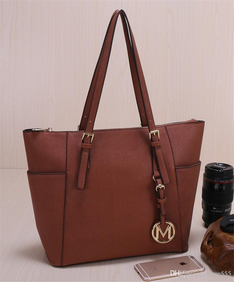 87d6170772d0 2019 Famous Brand Fashion Women Bags PU Leather Luxury Handbags Famous  Designer Brand Bags Purse Shoulder Tote Bag Female Bag 820  Leather Totes  Jo Totes ...