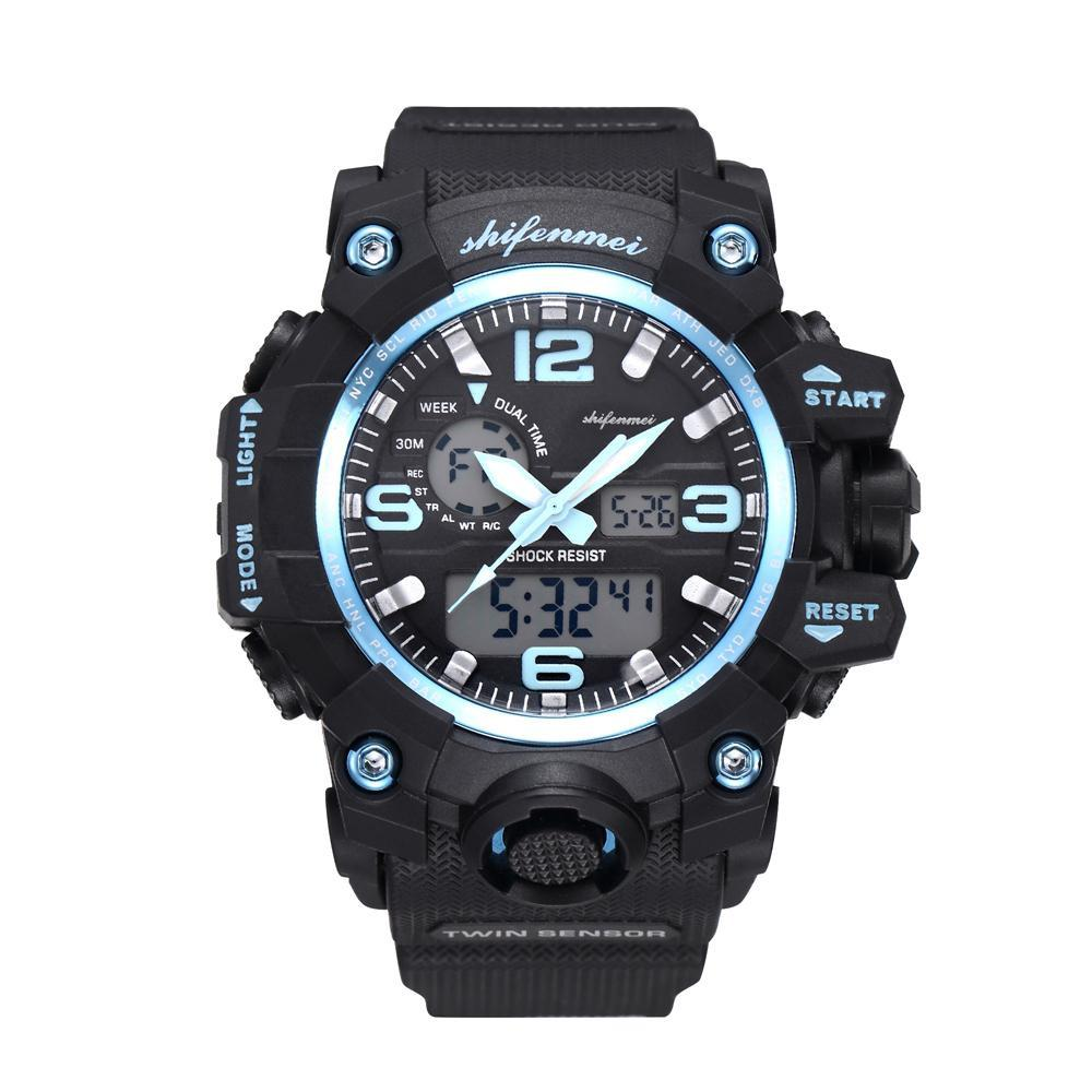709f6af81f Tangnade Men's Digital Quartz Sport Watches Mountaineering Waterproof  Electronic Watches mens top brand luxury megir 20