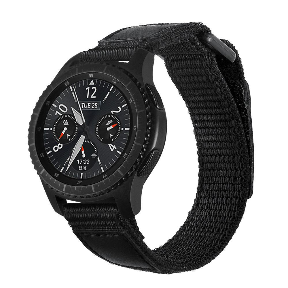 c2c34754f 22MM Nylon Strap For Samsung Gear S3 Classic/Frontier Watch Band Compatible  Samsung Galaxy Watch S4 46mm Watchband Cool Watch Bands Long Watch Bands  From ...