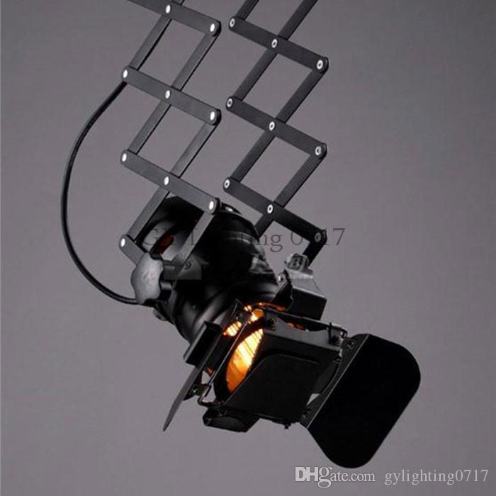 110-240V Vintage zig-zag 5W cob led ceiling lights theater stage Par Can lamp Industrial barndoor clothing store zig zag LED spotlights