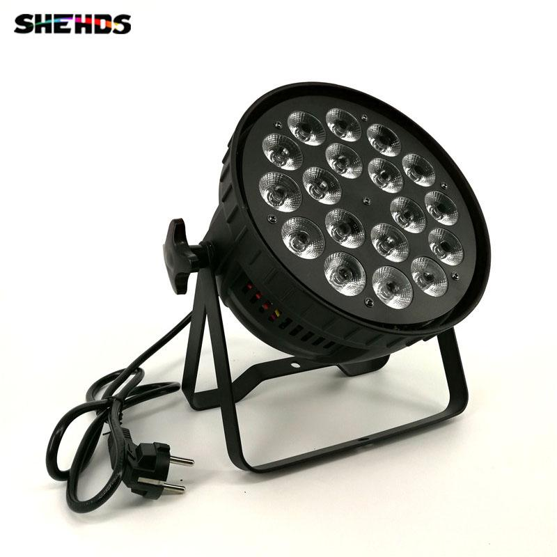 Active Dj Wash Led Light Led Par Light 7x12w Rgbw 4in1 Led Par Light Stage Flat Slim Led Par Strobe Flash Light Wide Selection; Stage Lighting Effect