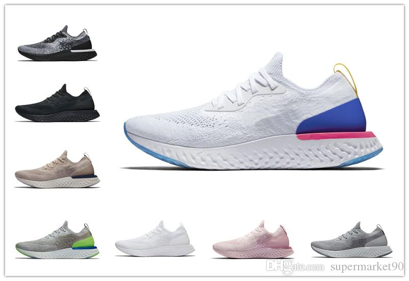f910c8631b7e Hot Sale Men Women Running Shoes Epic React Instant Go Fly Summer Causal  Shoes Breathable Sport Athletic Trains Designer Shoes Sneakers Best Running  Shoes ...