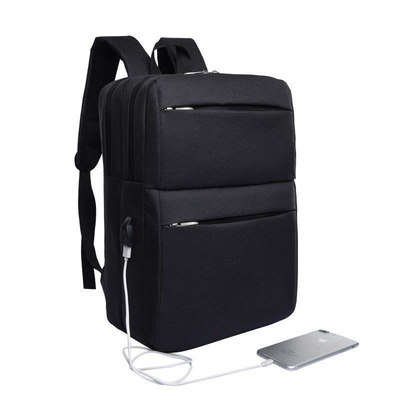 6dcbd68e48 High Quality Simple Fashion Men S Business Laptop Backpack Rucksack  External USB Charger Anti Theft Leisure Travel Backpack Rucksack Backpack  Boys Backpacks ...