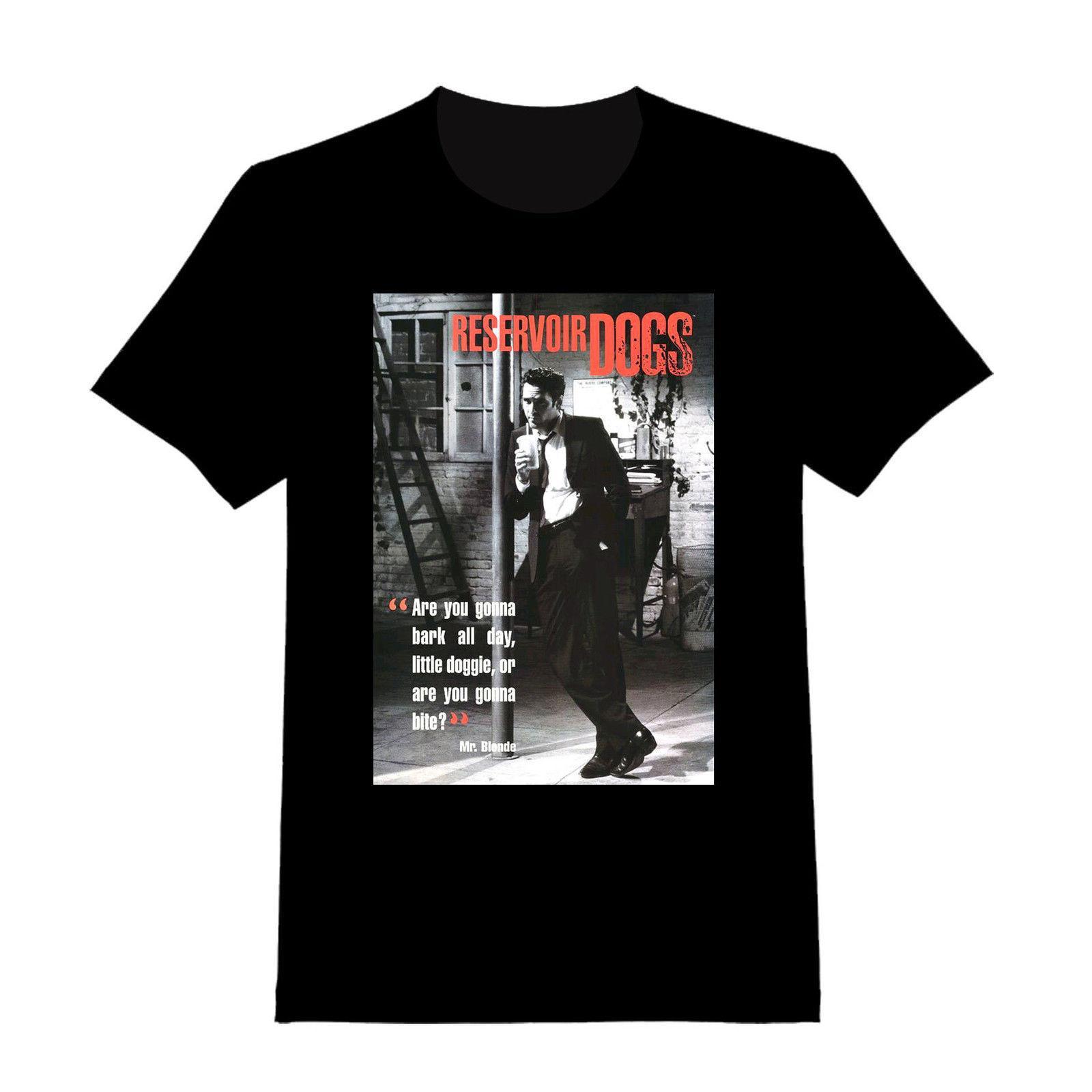 Mr Blonde Reservoir Dogs Custom T Shirt 123 Quentin Tarantino Custom