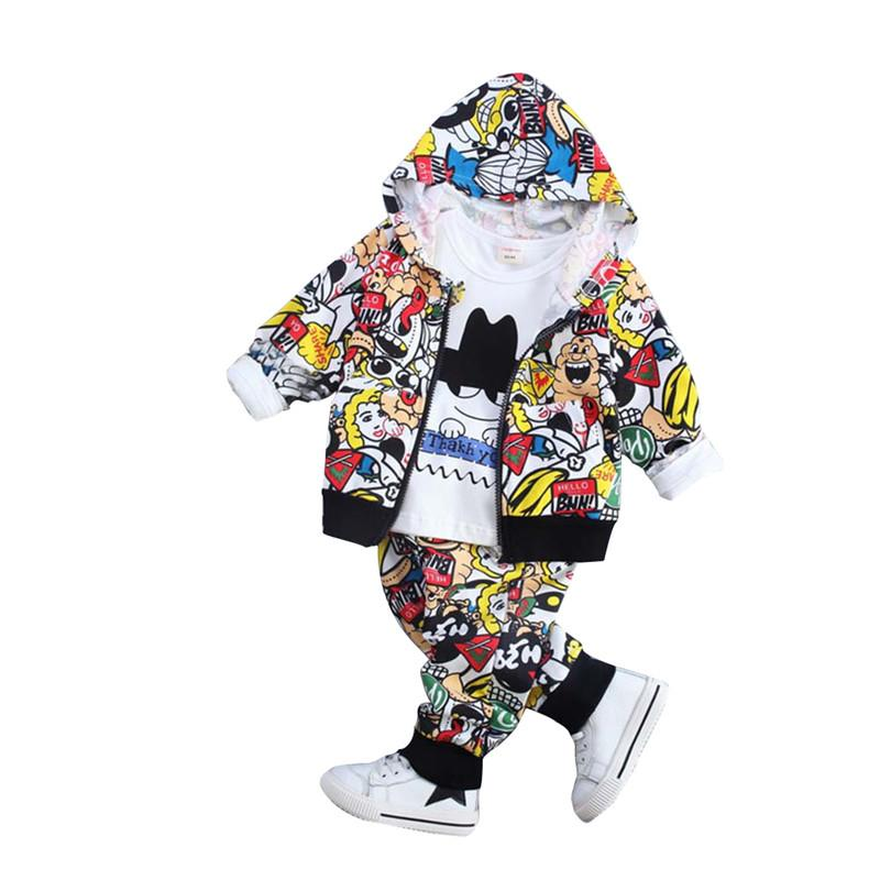afce1f38c823 2019 0 4Y Newborn Baby Boys Girls Suits Clothes Autumn 2018 Kids ...
