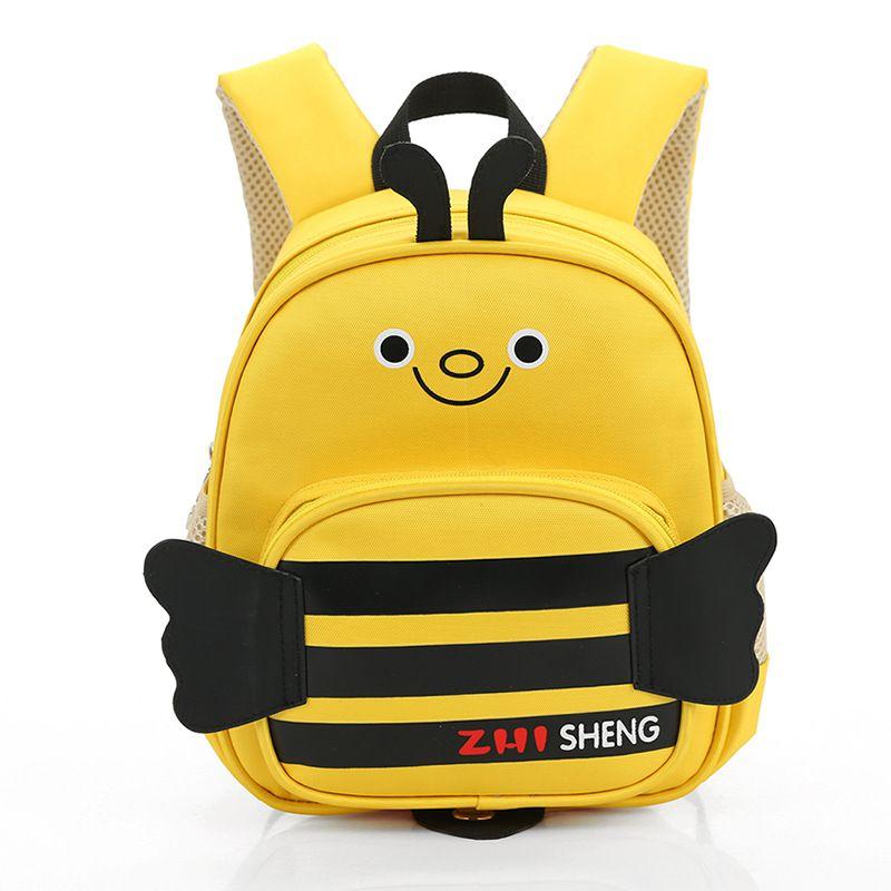 fbfb8c870201 2017 Hot Sale Children s Backpack Cartoon Bee Kindergarten School Bags  Mochilas Infantil Kids Anti Lost Rucksacks Boys Girls Bag
