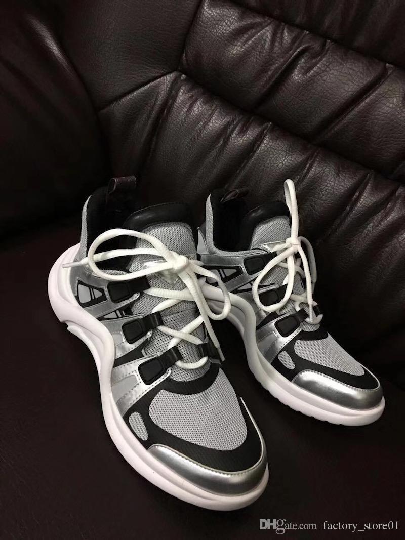 Scarpe da ginnastica traspiranti estate arco estate delle donne retrò marchio le donne degli uomini scarpe papà moda casual stivali esterni dropship