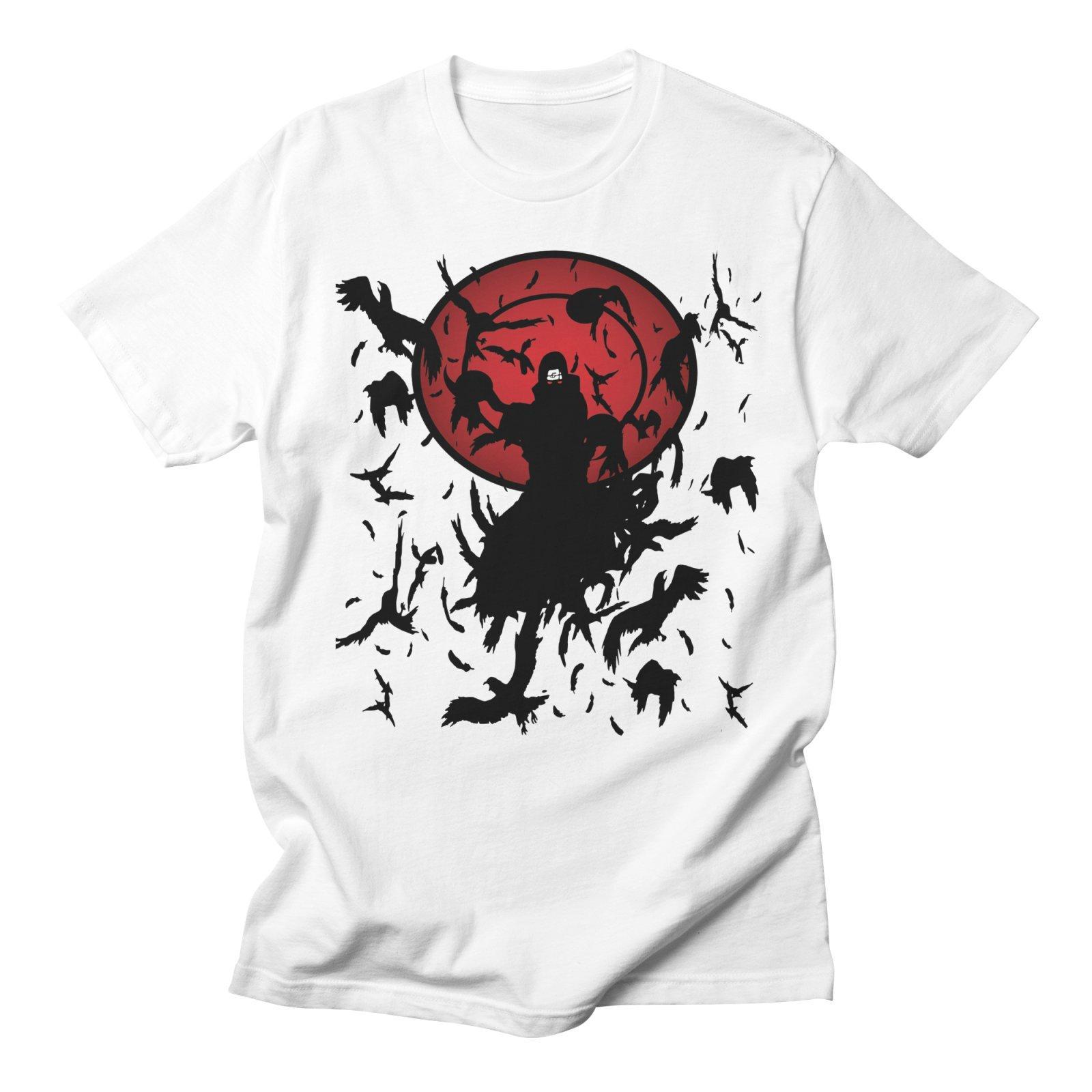 Compre Naruto Uchiha Itachi Anime Camisetas Moda Hombre Streetwear Harajuku  Algodón Casual Creativo Talla Grande Camiseta Blanca Para Hombres Ropa A   24.2 ... 2f0f39def00