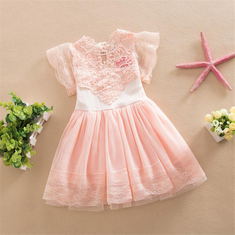 Girls' Baby Clothing Summer Boho Halter Children Baby Girls Kids Party Dresses Polka Dot Floral Sleeveless Backless Casual Dress For Age 2-6t