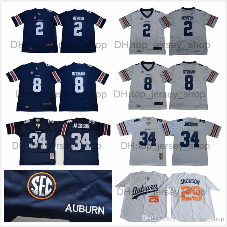 0fe54729b82 shop auburn tigers 2 cam newton white portrait number college jersey 84711  503ce; closeout discount ncaa auburn tigers jersey men kids youth 34 bo  jackson ...