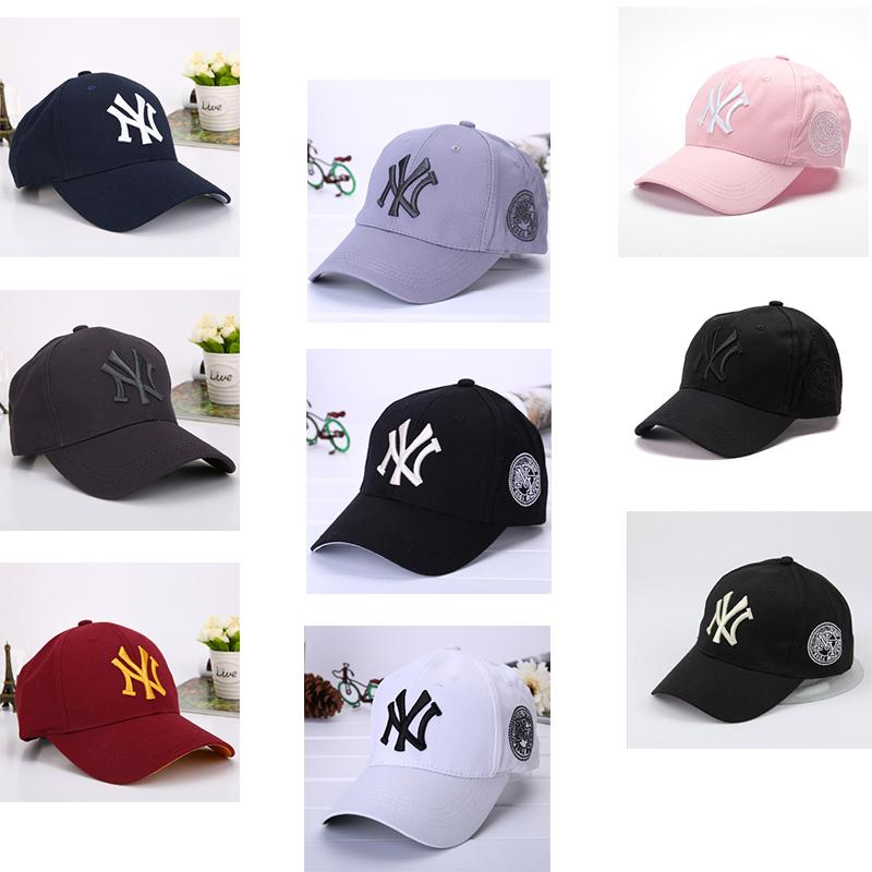 dc871c5493cdf 2019 Kids Baseball Cap NY Embroidery Letter Sunshade Hats Hiphop Street  Dance Teenager Hat Summer Sports Cap Ponytail Cc Caps From The one