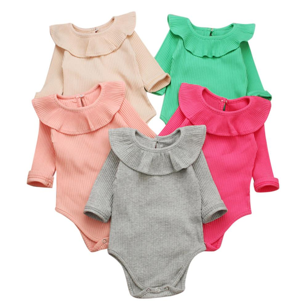 53f836a532ec 2019 Summer Baby Girl Rompers Spring Princess Newborn Baby Clothes ...