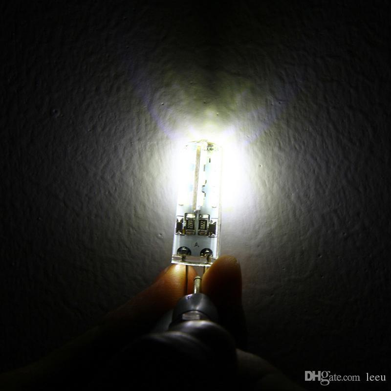 SMD3014 DC 12V 3W G4 LED-lamp Vervangen 30W halogeenlampverlichting 360 straalhoek LED-gloeilampenlamp voor kristallen kroonluchter
