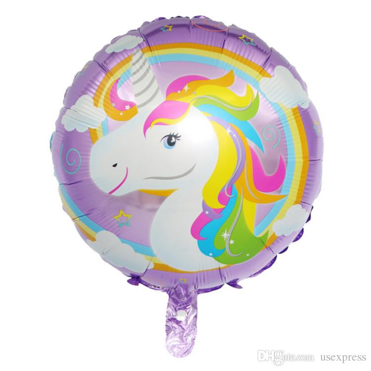 18inch Happy Birthday Party Decoration Little Horse Animal Foil Balloons Wedding/Halloween/Christmas /Birthday Decoration Factory Wholesale