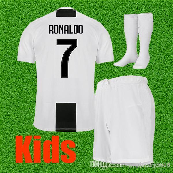 78735b621e2 Best Thailand 2019 RONALDO Juventus Kids Soccer Jersey 18 19 DYBALA ...