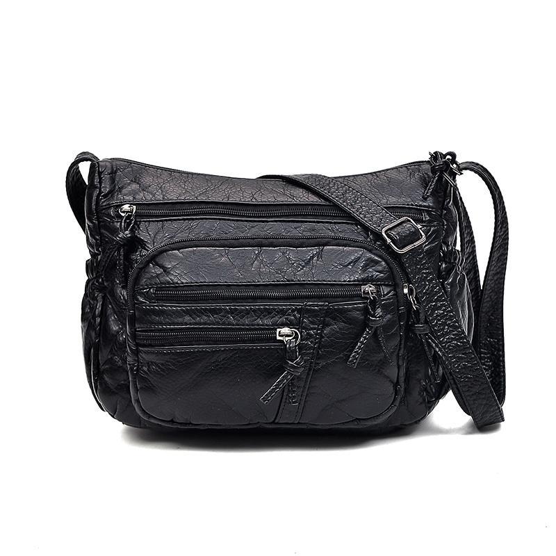 4e996b22d007 Women Leather Handbags New Style Women Bag Sac A Main Femme Luxury Handbags  Bags Designer Small Handbag 2018 Sling Mens Leather Bags Laptop Messenger  Bags ...